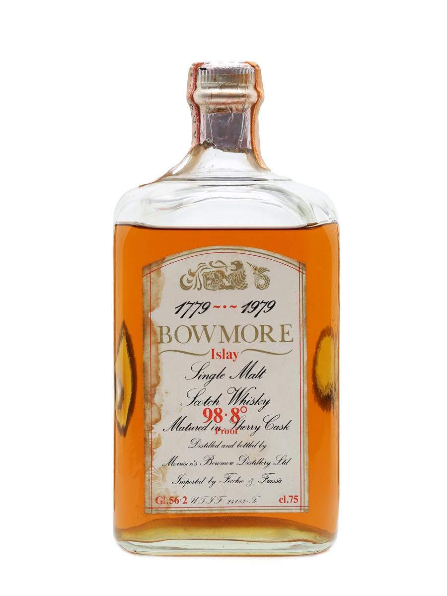 Bowmore Bicentenary 1779 - 1979 Cask Strength 75cl