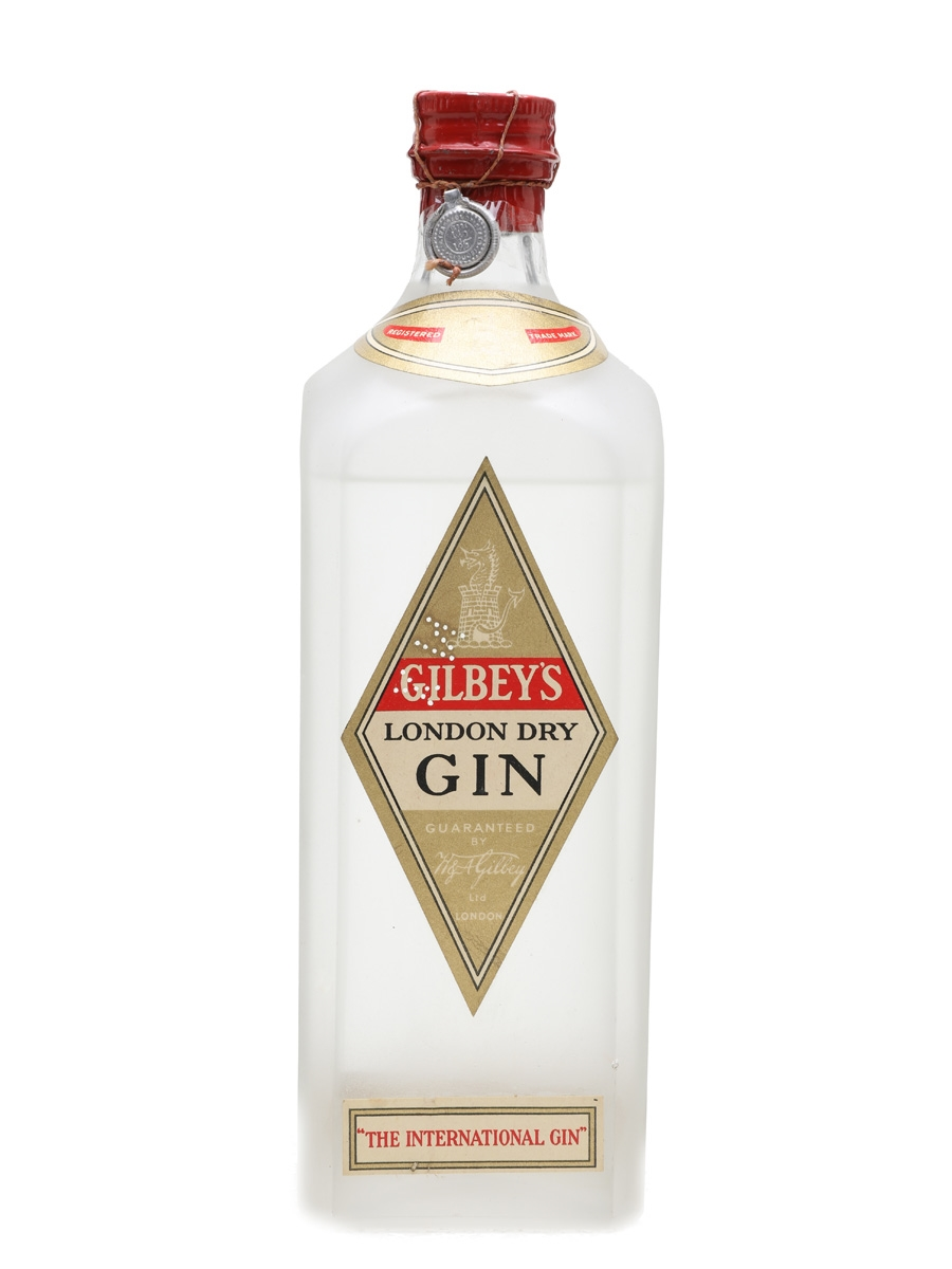 Gilbey's London Dry Gin Bottled Late 1940s - Cinzano 75cl / 46.2%