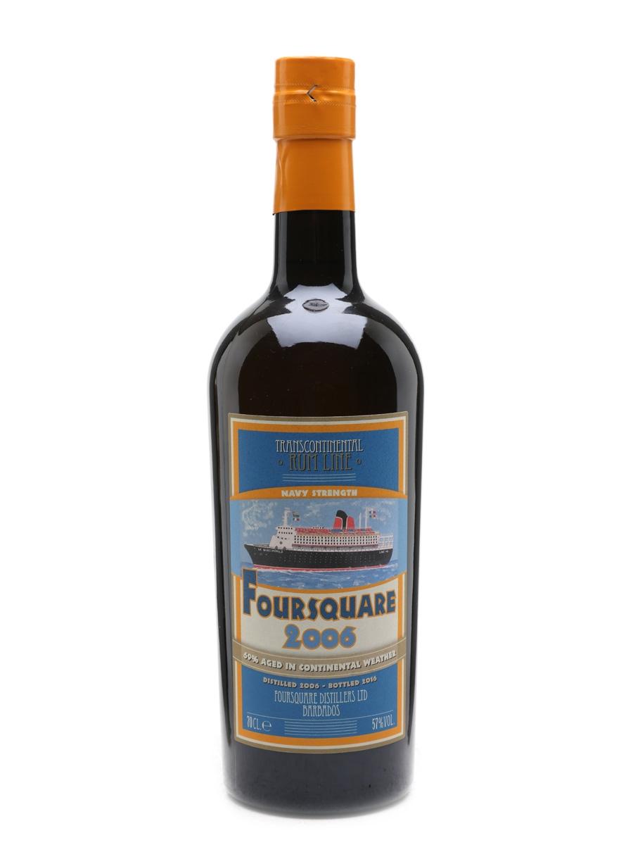 Foursquare 2006 Navy Strength Rum Transcontinental Rum Line 70cl / 57%