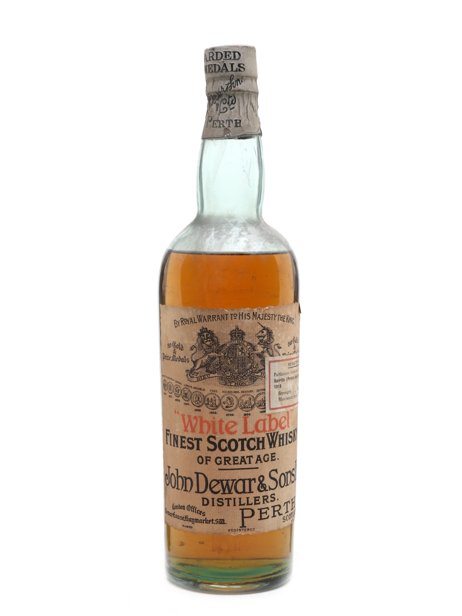 Dewar's White Label Bottled 1917 75cl / 40%