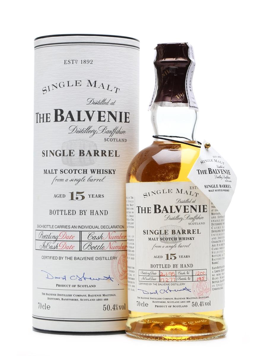Balvenie 1977 Single Barrel 15 Years Old 70cl / 50.4%