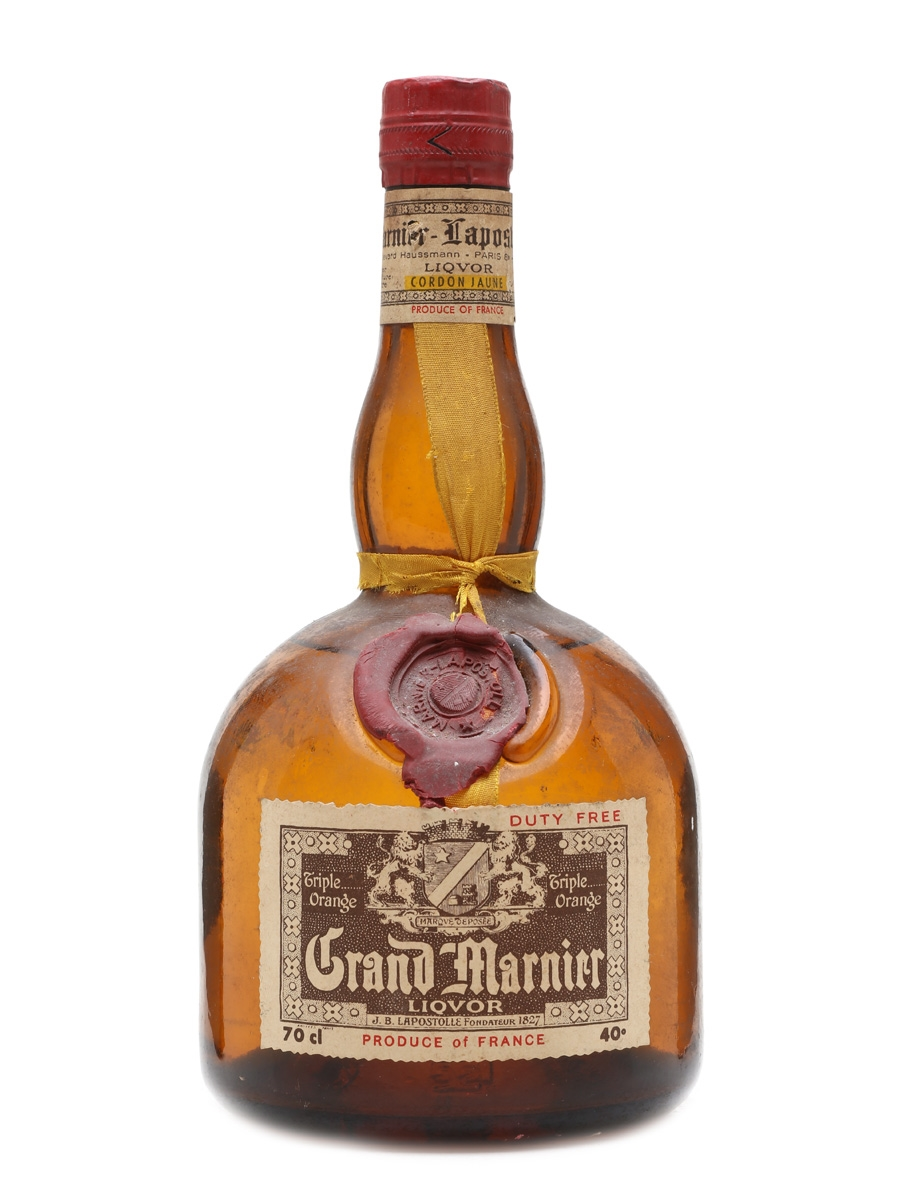 Grand marnier cordon jaune lot 18614 whisky auction for Grand marnier cordon jaune aldi