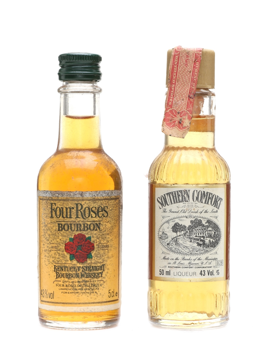 Four Roses Southern Comfort Lot 18785 Whisky Auction Whisky