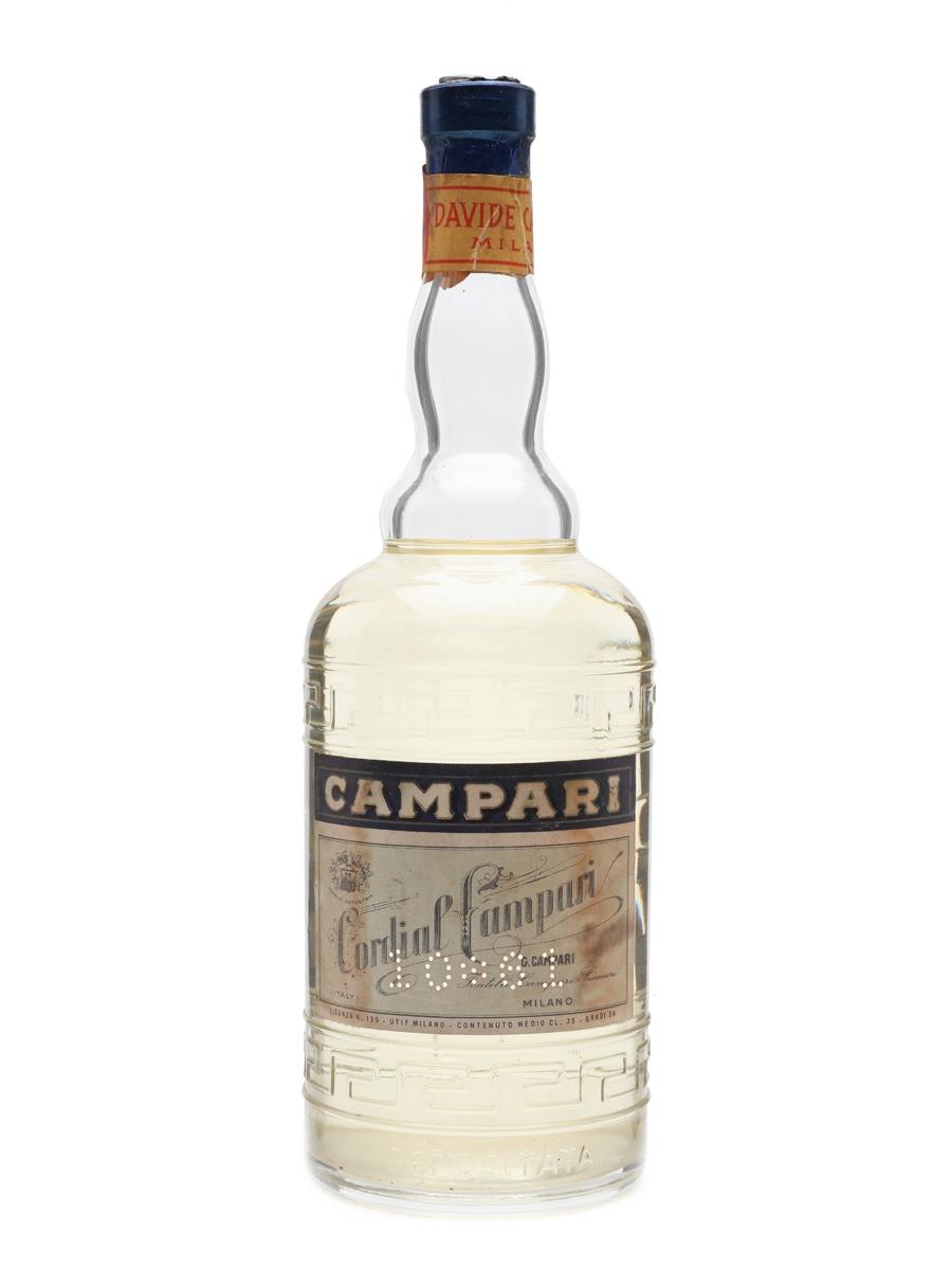 Campari Cordial Liqueur Lot 19275 Whisky Auction Whisky