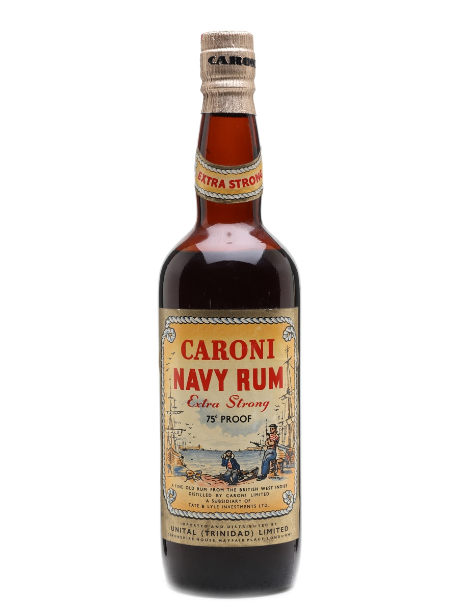 Caroni Navy Rum Bottled 1960s 75cl / 43%