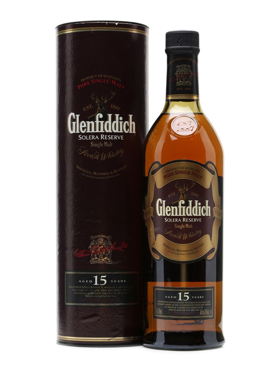 Glenfiddich 15 Years Old Solera Reserve 70cl