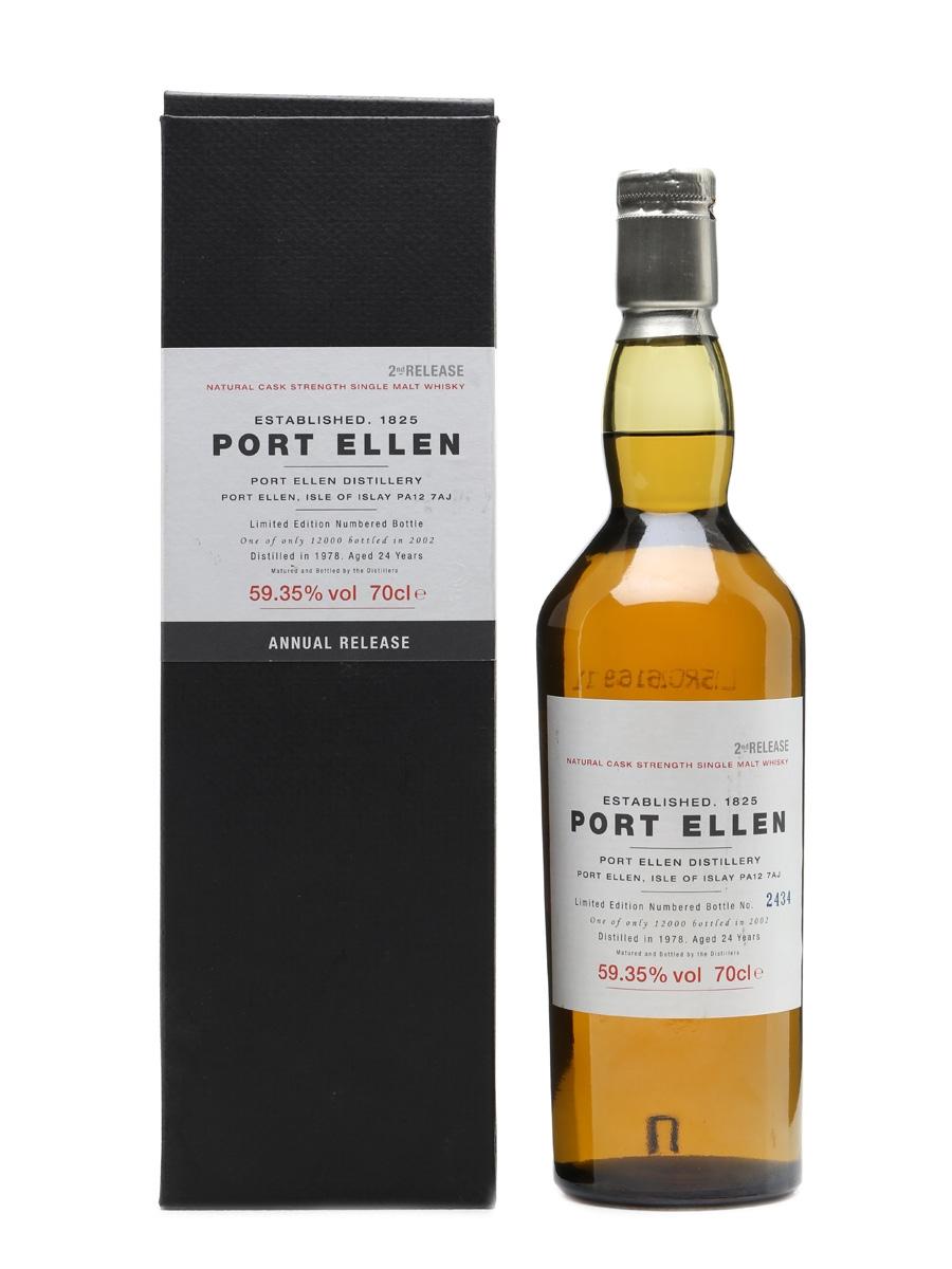Port Ellen 1978 - 2nd Release 24 Years Old 70cl