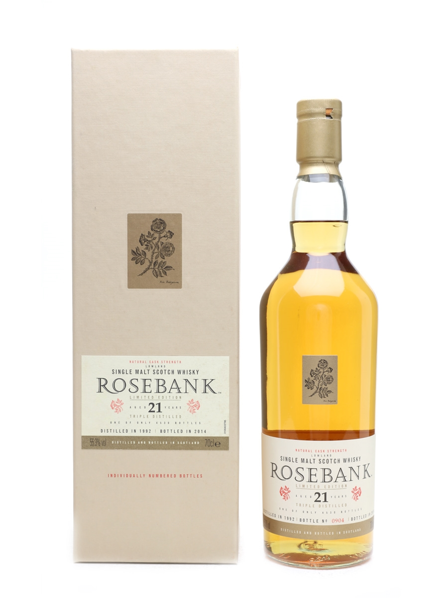 Rosebank 1992 21 Year Old Special Releases 2014 70cl / 55.3%