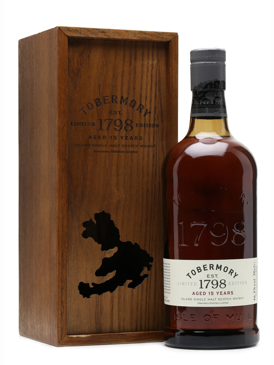Tobermory 15 Years Old Limited Edition 70cl