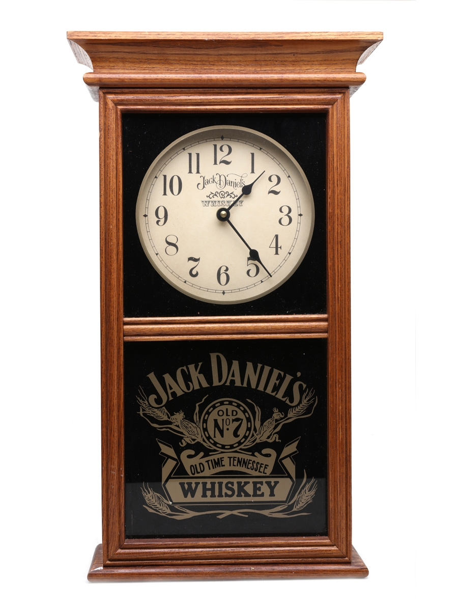Jack Daniel's Old Time Tennessee Whiskey Clock 48cm x 28cm x 10cm