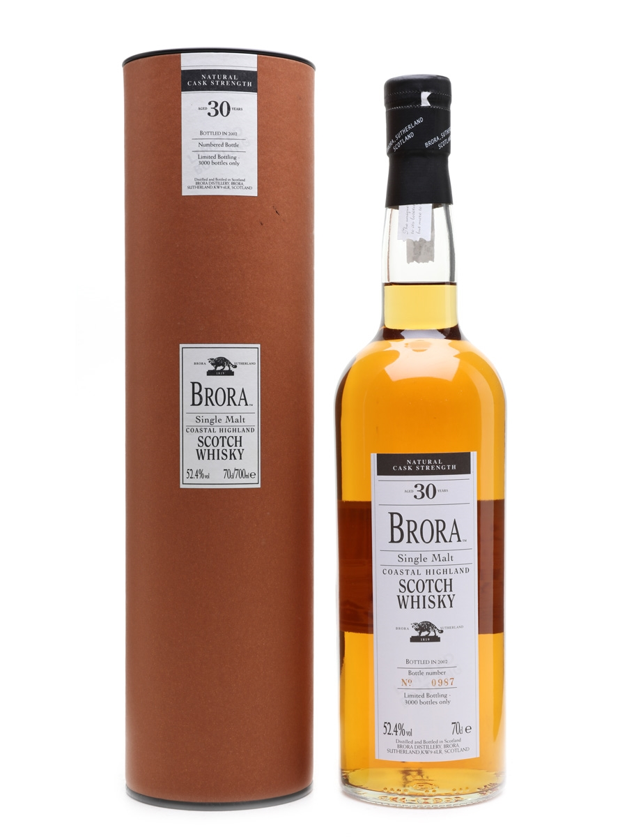 Brora 30 Year Old 1st Release Special Releases 2002 70cl / 52.4%