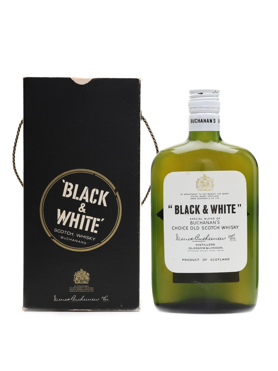 Black & White Bottled 1970s 37.5cl / 40%