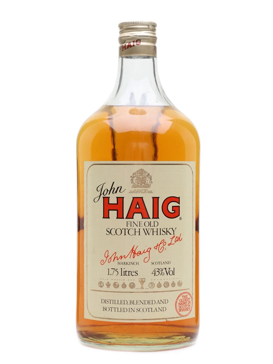 Haig Fine Old Large Bottle - Bottled 1980s 175cl / 43%