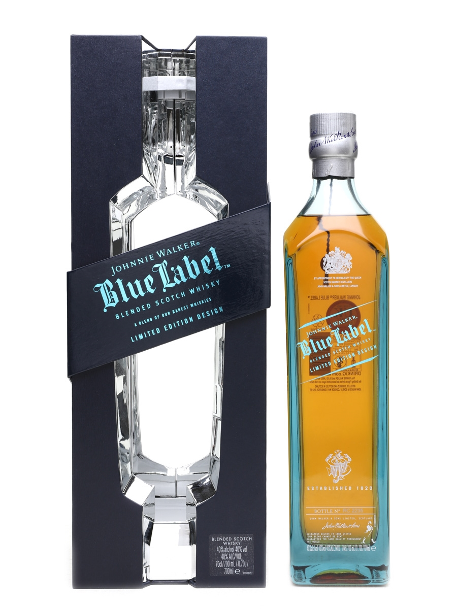 This is a picture of Nerdy Johnnie Walker Blue Label Madrid Edition