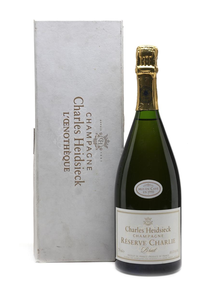 Charles Heidsieck Reserve Charlie L'Oenotheque - Mis En Cave En 1990 75cl / 12%