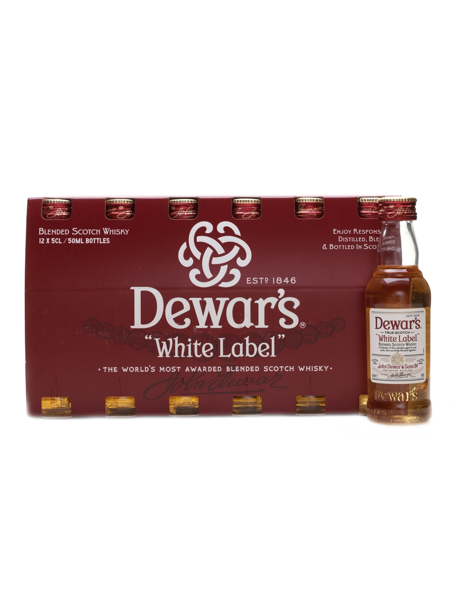 Dewar's White Label  12 x 5cl / 40%