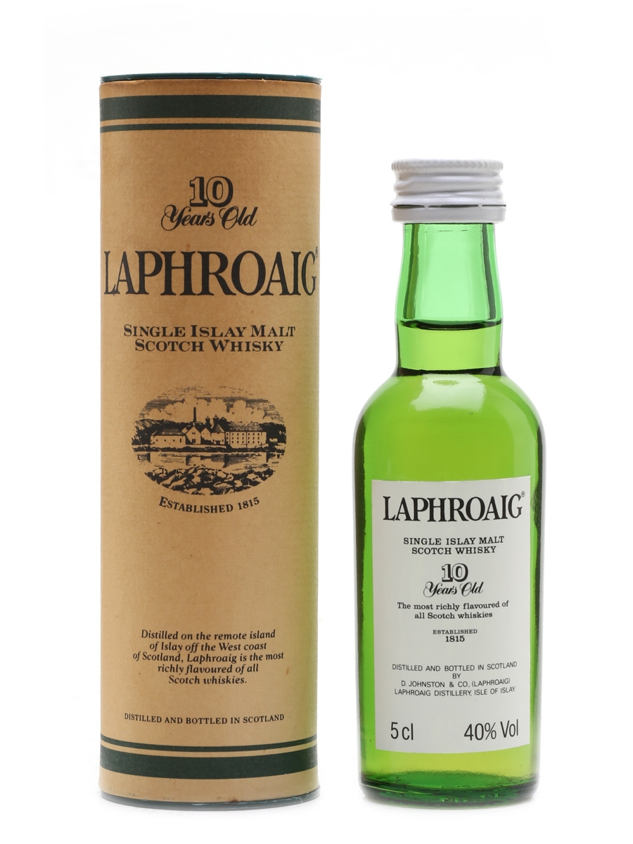 Laphroaig 10 Year Old Pre Royal Warrant 5cl / 40%