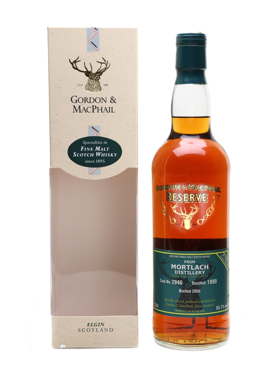 Mortlach 1990 Flying Vikings Bottled 2006 Gordon & MacPhail 70cl / 55.7%