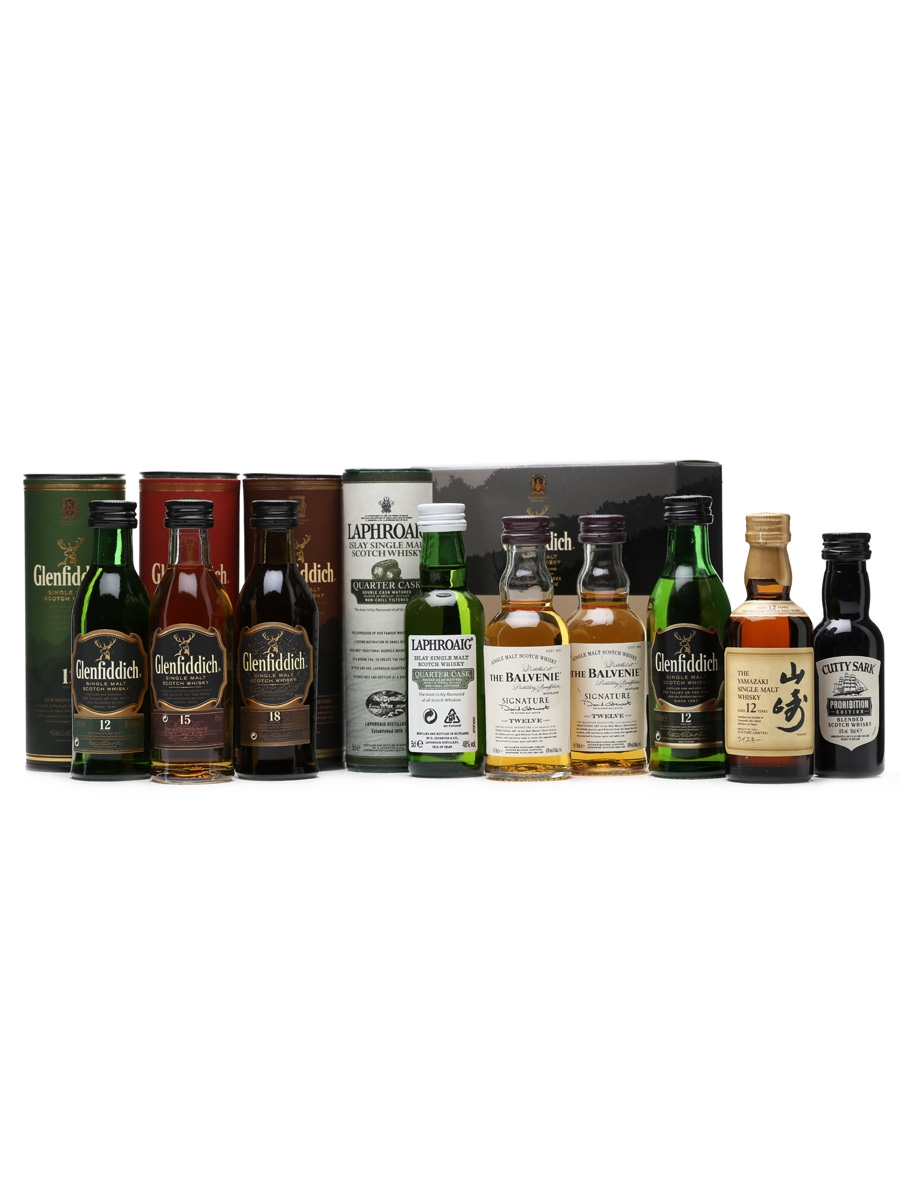 9 x Assorted Whisky Miniatures