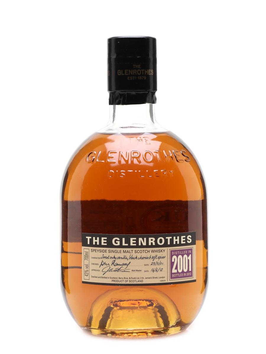 Glenrothes 2001 Bottled 2013 70cl / 43%