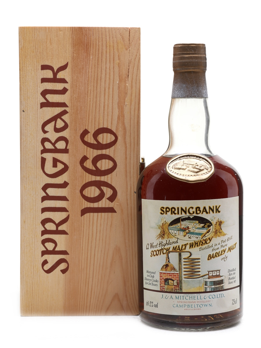 Springbank 1966 Local Barley Sherry Cask Number 442 75cl / 61.2%