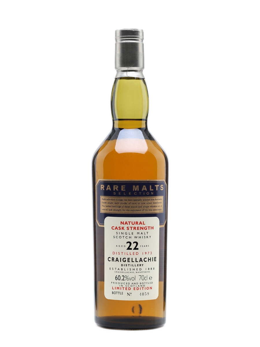 Craigellachie 1973 22 Year Old Rare Malts Selection 70cl / 60.2%