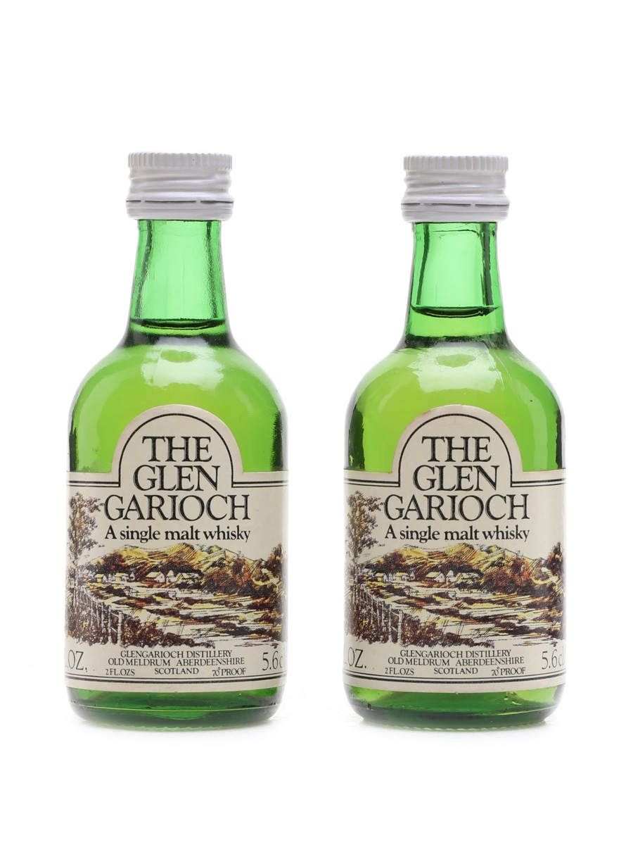 Glen Garioch Bottled 1970s 2 x 5.6cl / 40%