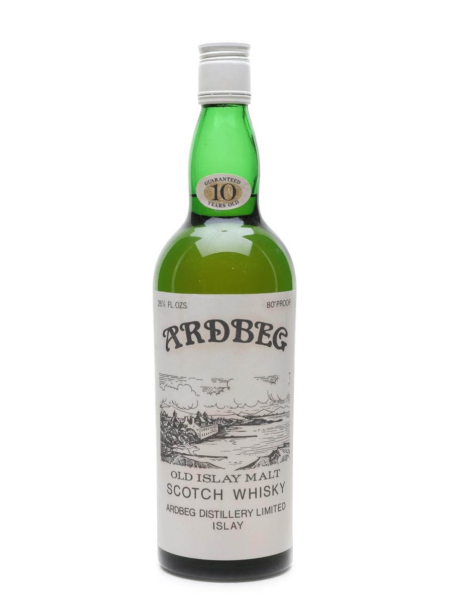 Ardbeg 10 Year Old Bottled 1960s 75cl / 40%
