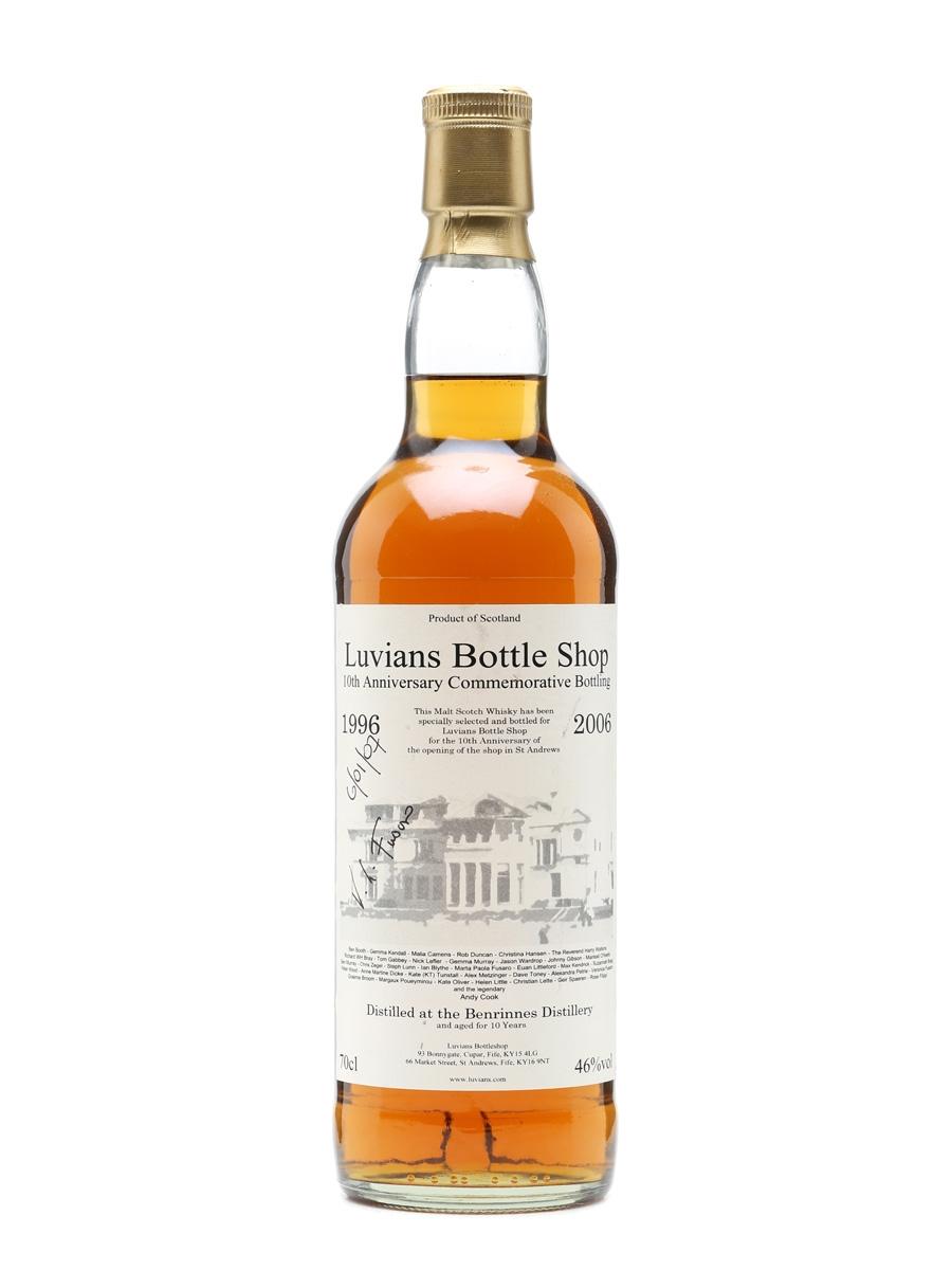 Benrinnes 1996 - 10 Years Old Commemorative Bottling 70cl / 46%