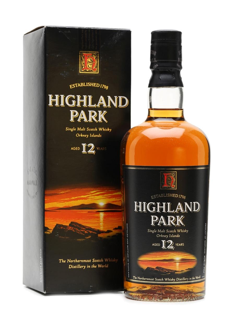 Highland Park 12 Years Old Old Presentation 70cl