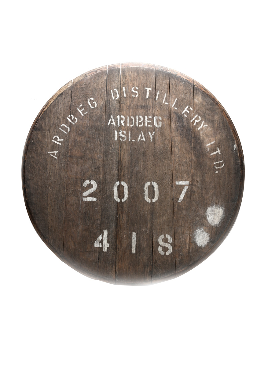 Ardbeg 2007 Cask End Number 418