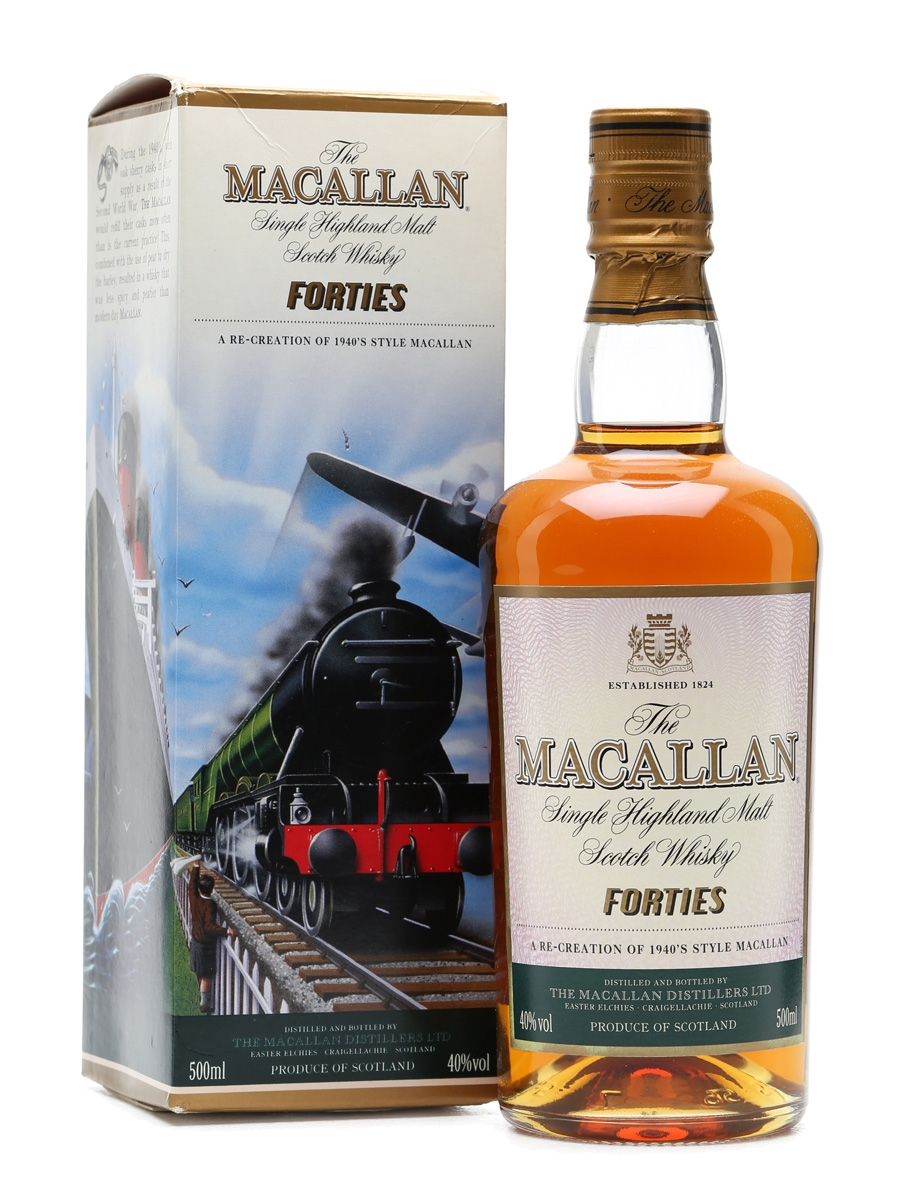Macallan Travel Series Forties  50cl / 40%