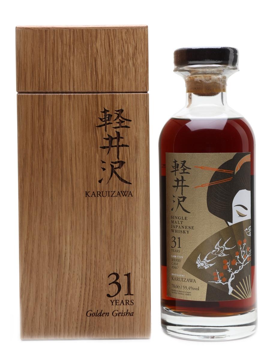 Karuizawa 31 Year Old Sherry Cask #3667 Golden Geisha - Elixir Distillers 70cl / 59.4%