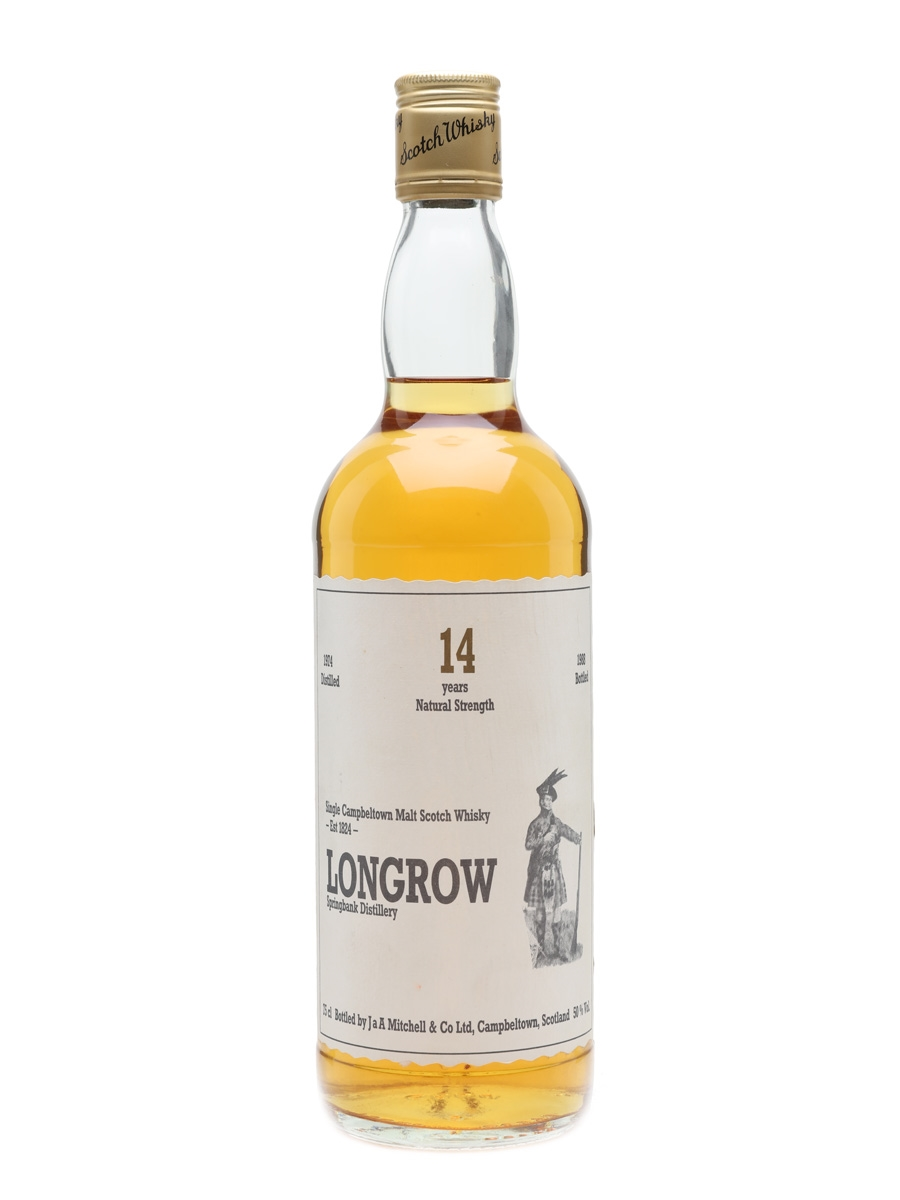 Longrow 1974 14 Year Old The Malt Scotch Whisky Company 75cl / 50%
