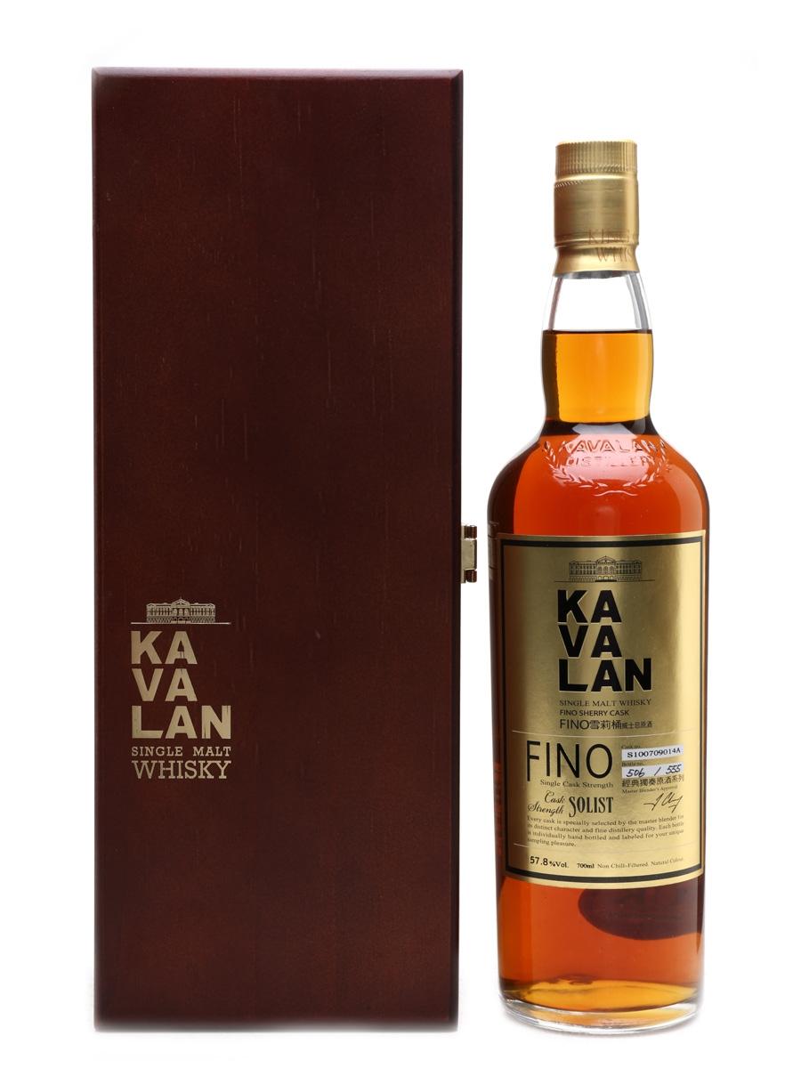 Kavalan Solist Fino Sherry Cask 70cl / 57.8%