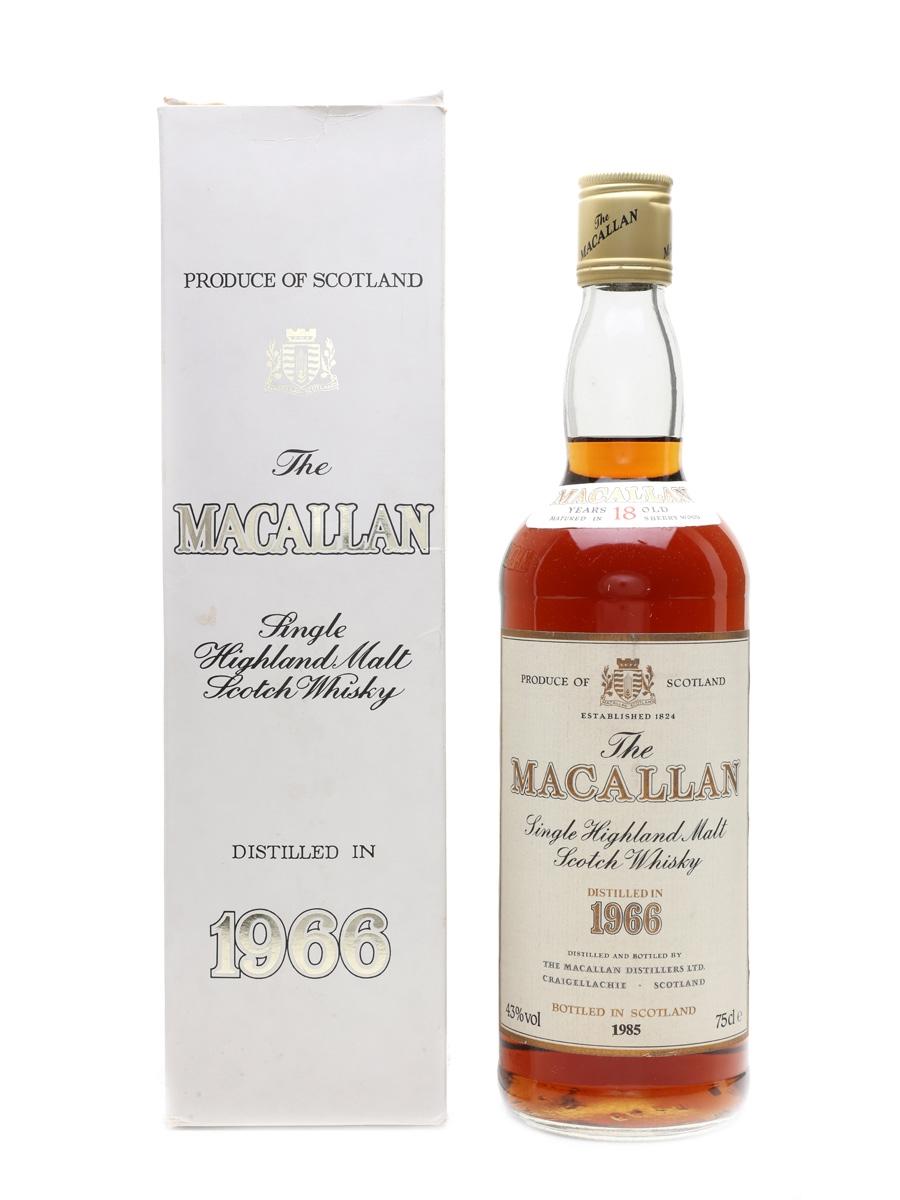 Macallan 1966 18 Year Old - Jumac 75cl / 43%