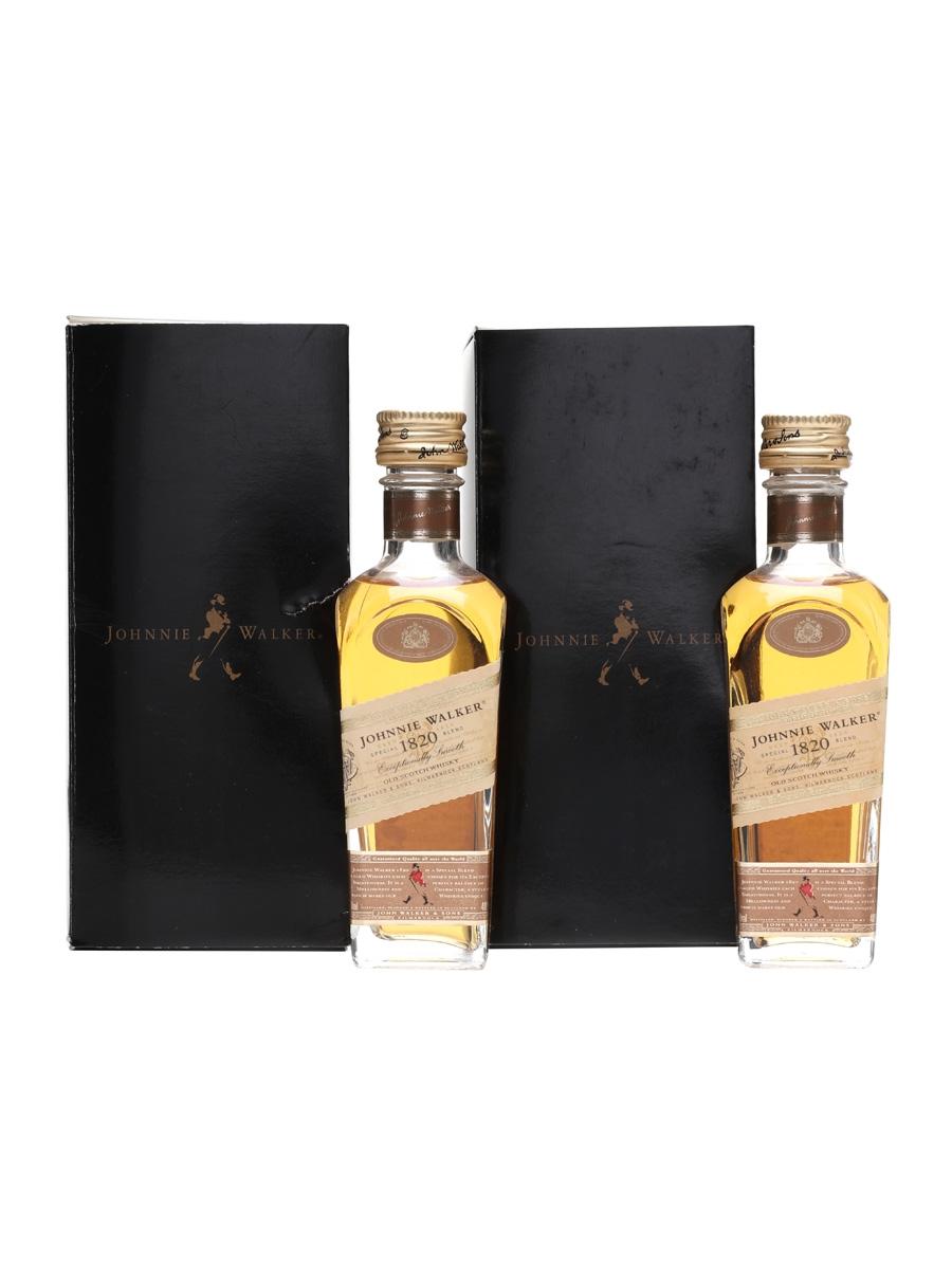 Johnnie Walker Special 1820 Blend x 2 5cl