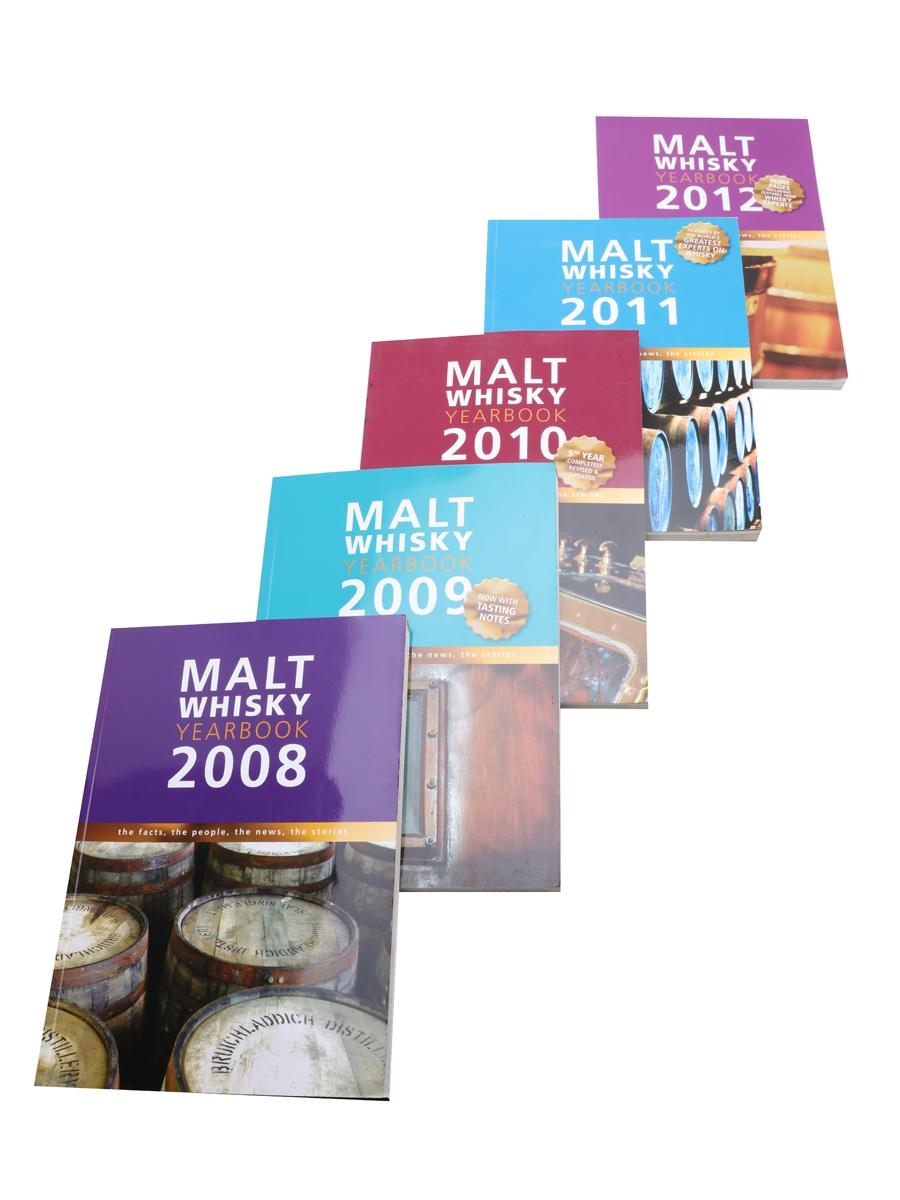 Malt Whisky Yearbooks 2008, 2009, 2010, 2011, 2012