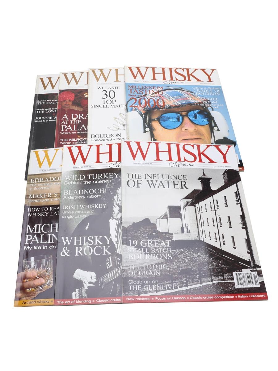 Whisky Magazine Issues 2, 5, 6, 7, 8, 9, 10