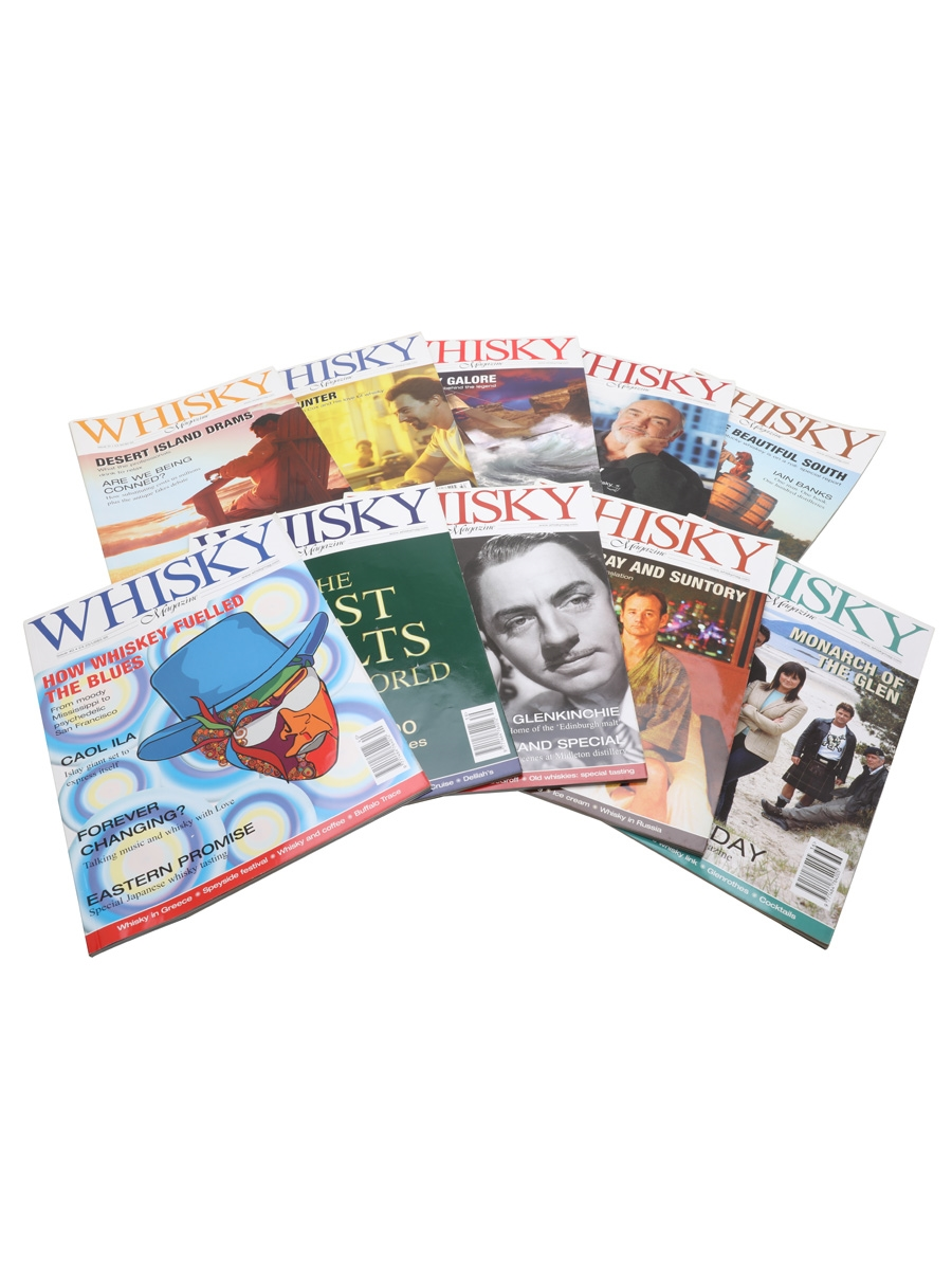 Ten Issues of Whisky Magazine Issues 31 to 40