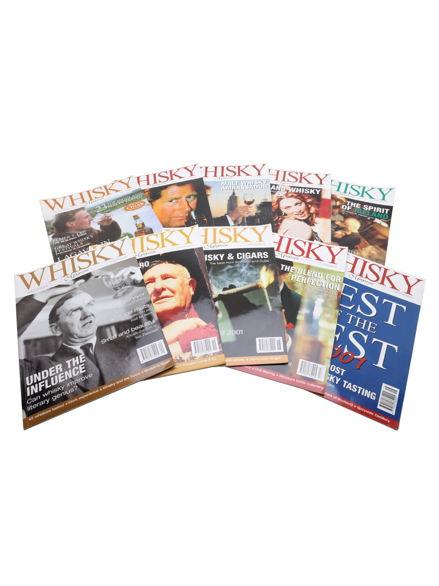 Ten Issues of Whisky Magazine Issues 11 to 20