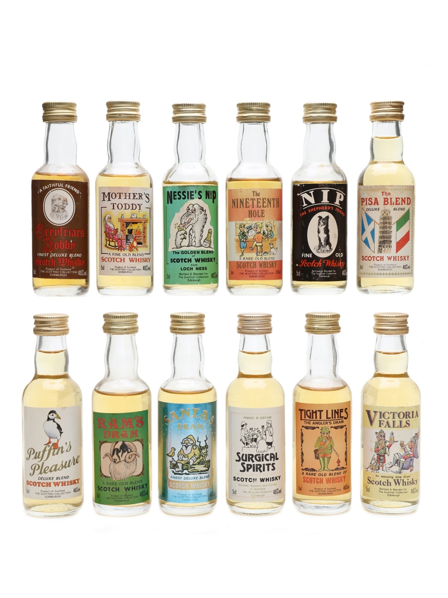 Scottish Collection Blends  12 x 5cl