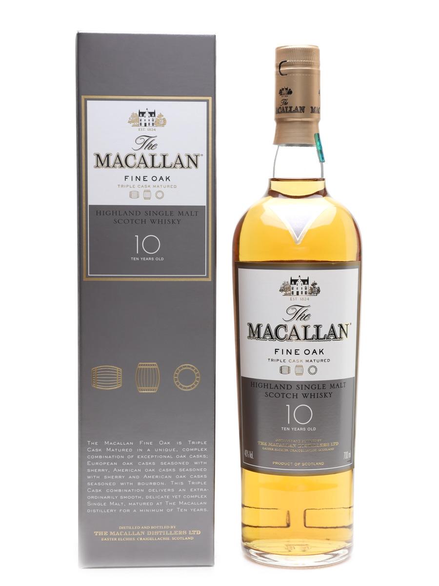 Macallan Fine Oak 10 Year Old  70cl / 40%