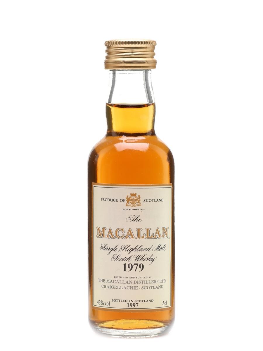Macallan 1979 Bottled 1997 5cl / 43%