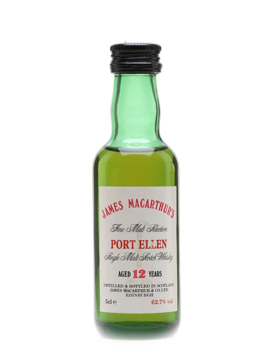 Port Ellen 12 Year Old James MacArthur's 5cl / 62.7%