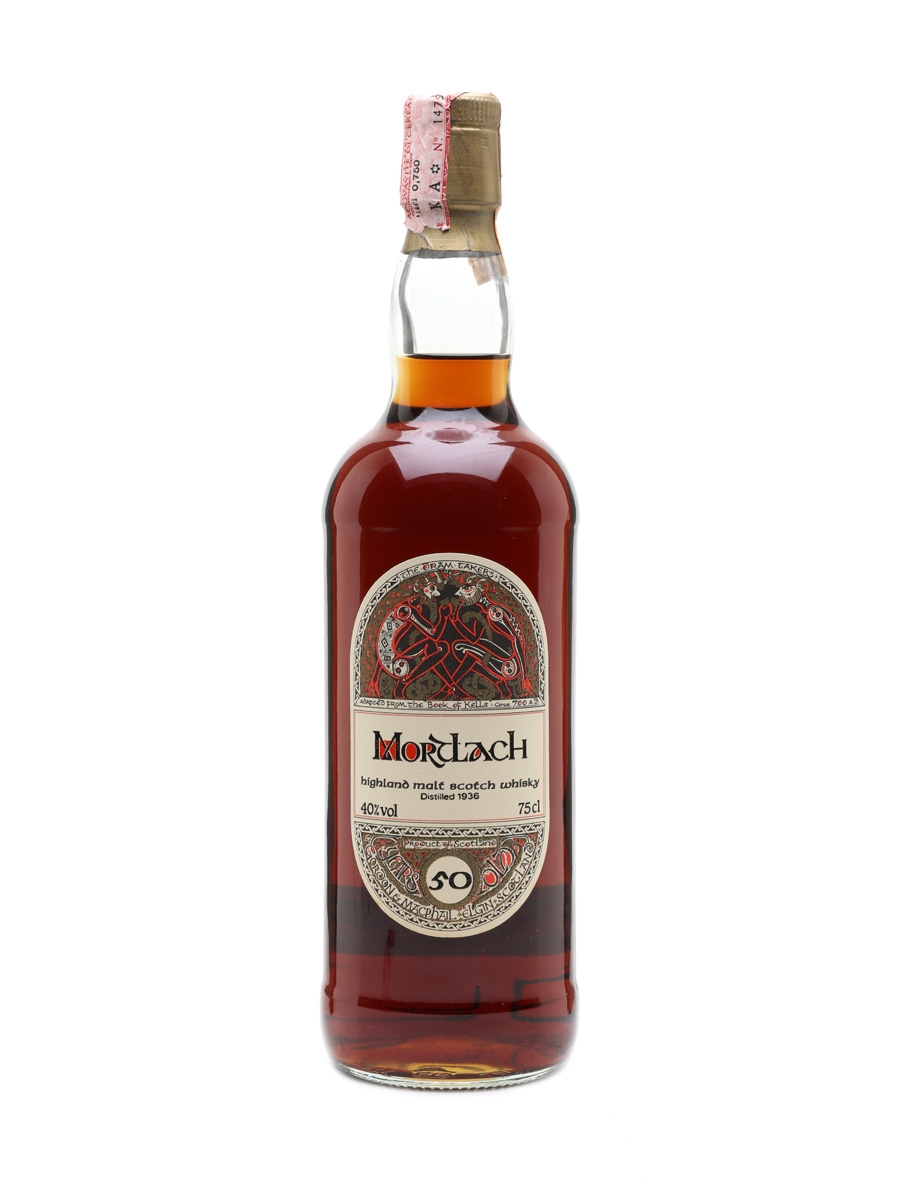 Mortlach 1936 - 50 Year Old Book Of Kells 75cl / 40%
