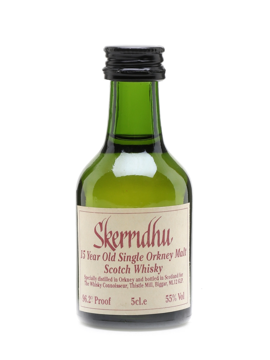 Skerridhu 15 Year Old The Whisky Connoisseur 5cl / 55%