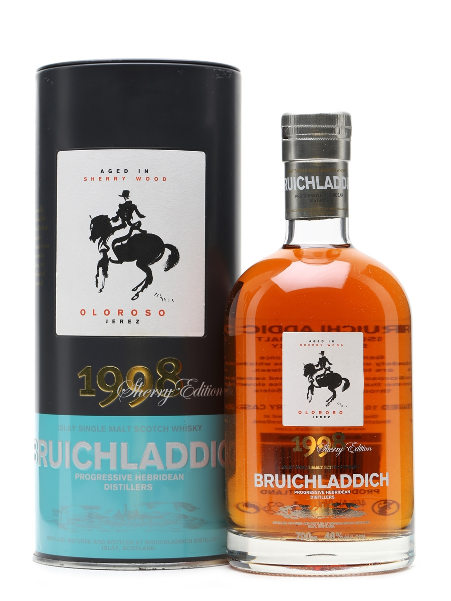 Bruichladdich 1998 Oloroso Sherry Cask 70cl
