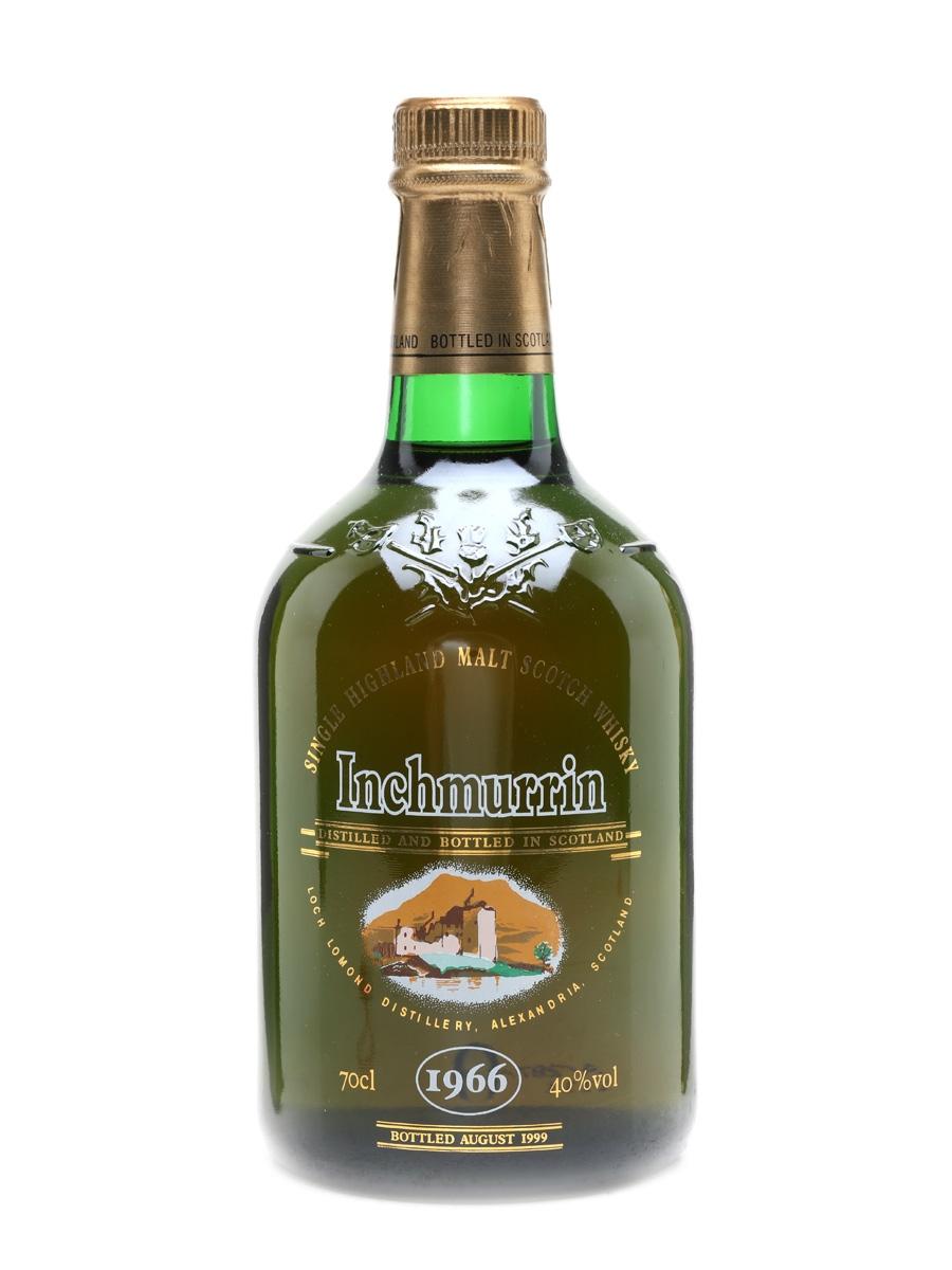 Inchmurrin 1966 Bottled 1999 - Loch Lomond Distillery 70cl / 40%