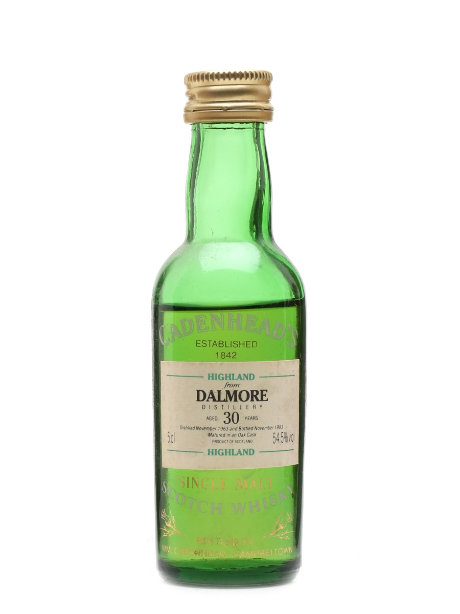 Dalmore 1963 30 Year Old Cadenhead's 5cl / 54.5%